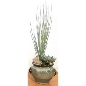 Wholesale Round Stoneware Vase Air Plants, Succulents, Cactus