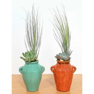 Wholesale Stoneware Vase Air Plants, Succulents, Cactus