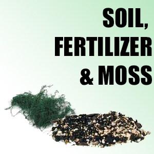 Soil, Fertilizer & Moss